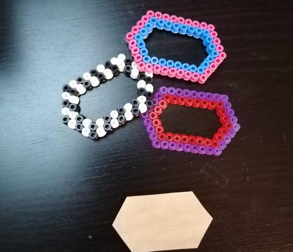 Les étiquettes en perles HAMA
