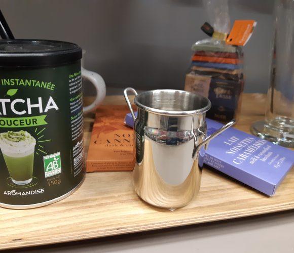J'ai testé pour vous mon thé menthe poivrée avec le mini pot à lait
