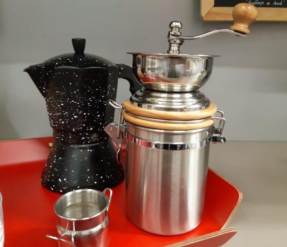 J'ai testé pour vous mon café italien avec mon moulin à café