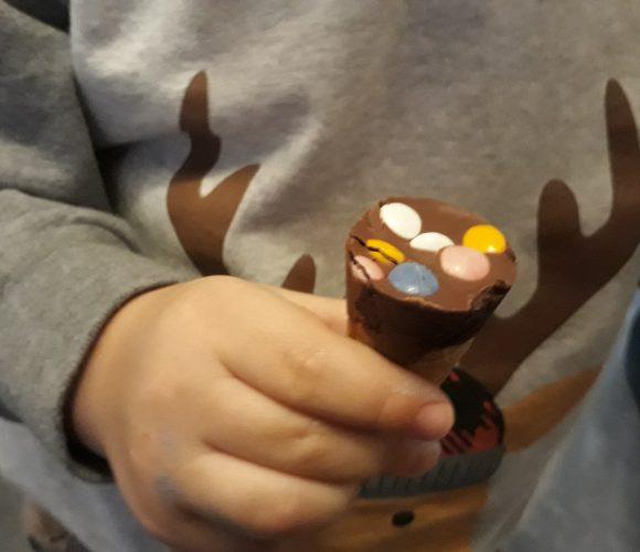J'ai testé pour vous le Cornet gaufrette chocolat et dragées Caffarel