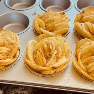 Pommes de terre fleurs