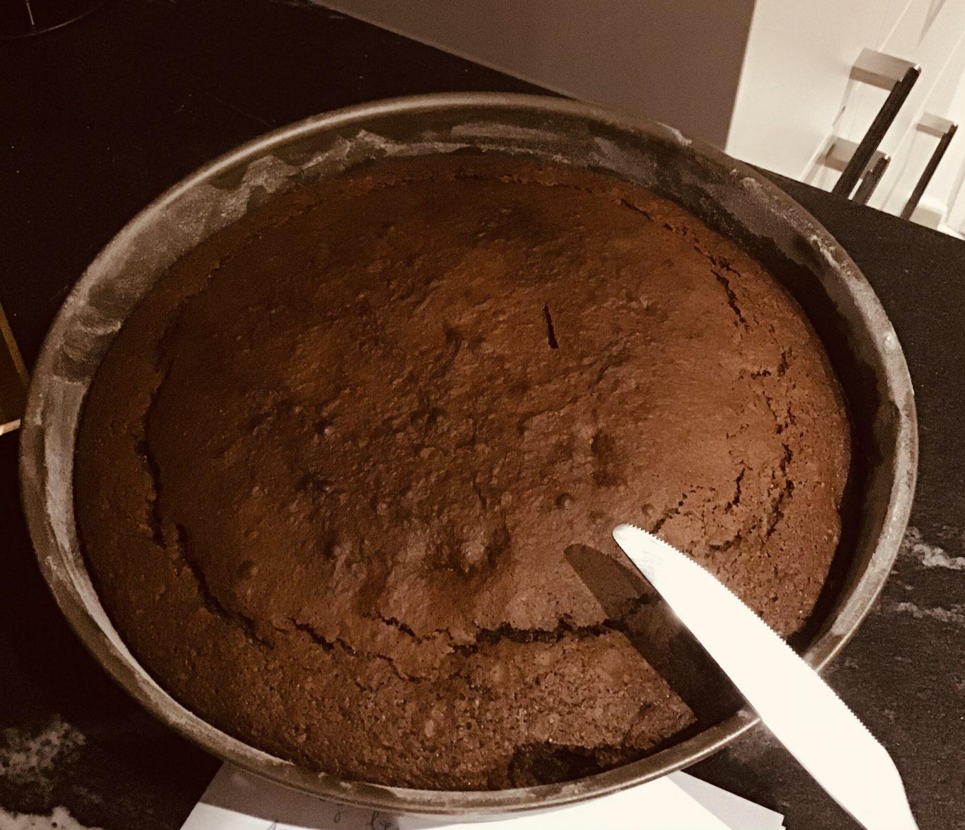 Gâteau choco du week-end