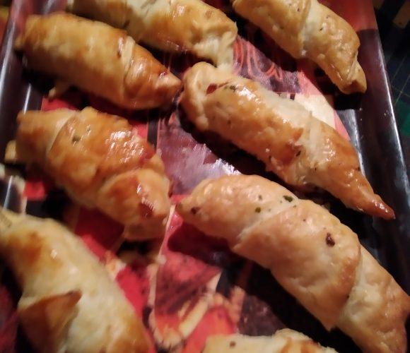 Croissant saumon aneth