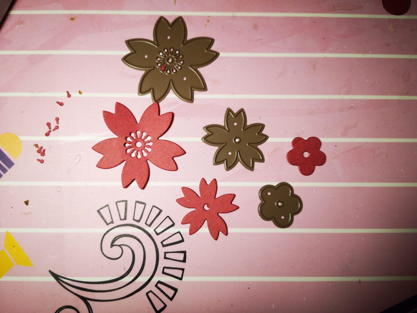 Les dies fleurs japonaises !