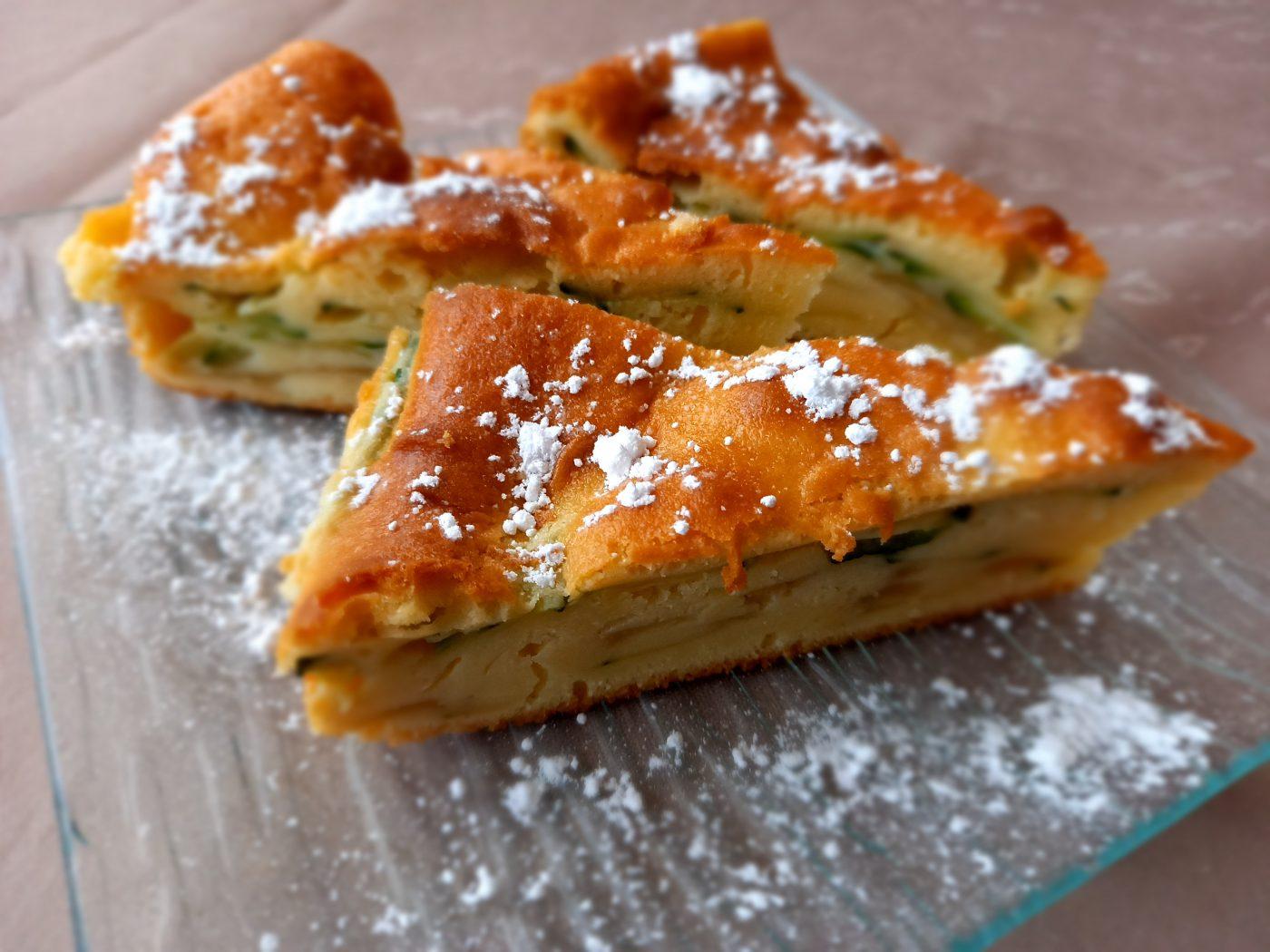 Moelleux Pommes Courgettes – Dessert Original mais délicieux !!!