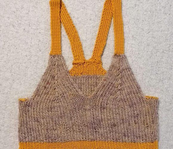 Bralette tricotée