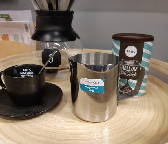 J'ai testé pour vous mon chocolat chaud vanille avec le pot à lait