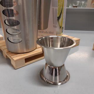 J'ai testé pour vous mon latté café avec le jigger inox 2/4 cl