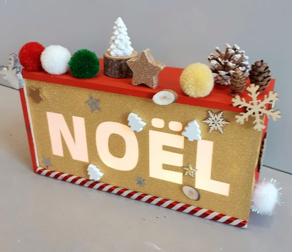 Light box Noel