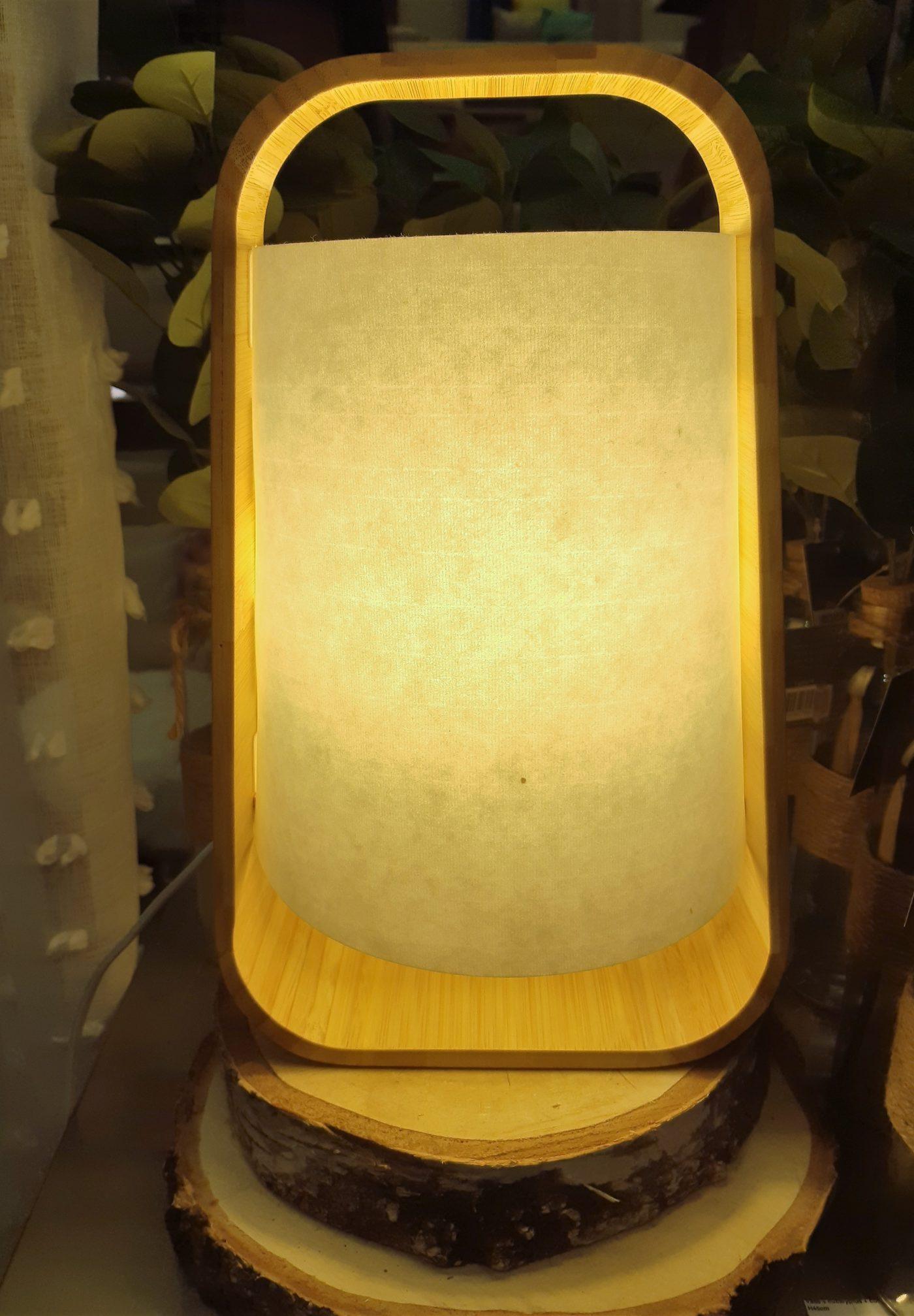 J'ai testé pour vous la lampe Bambou