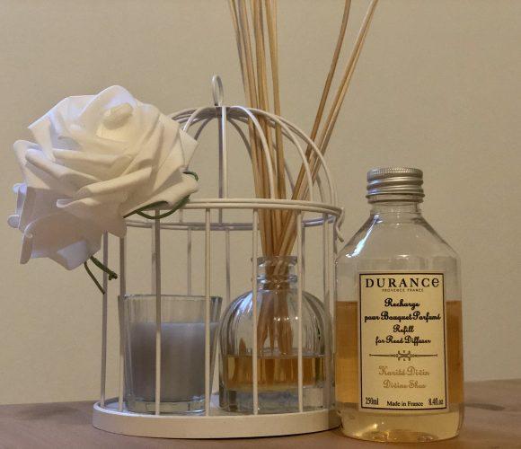 J'ai testé pour vous durance: recharge pour bouquet parfume