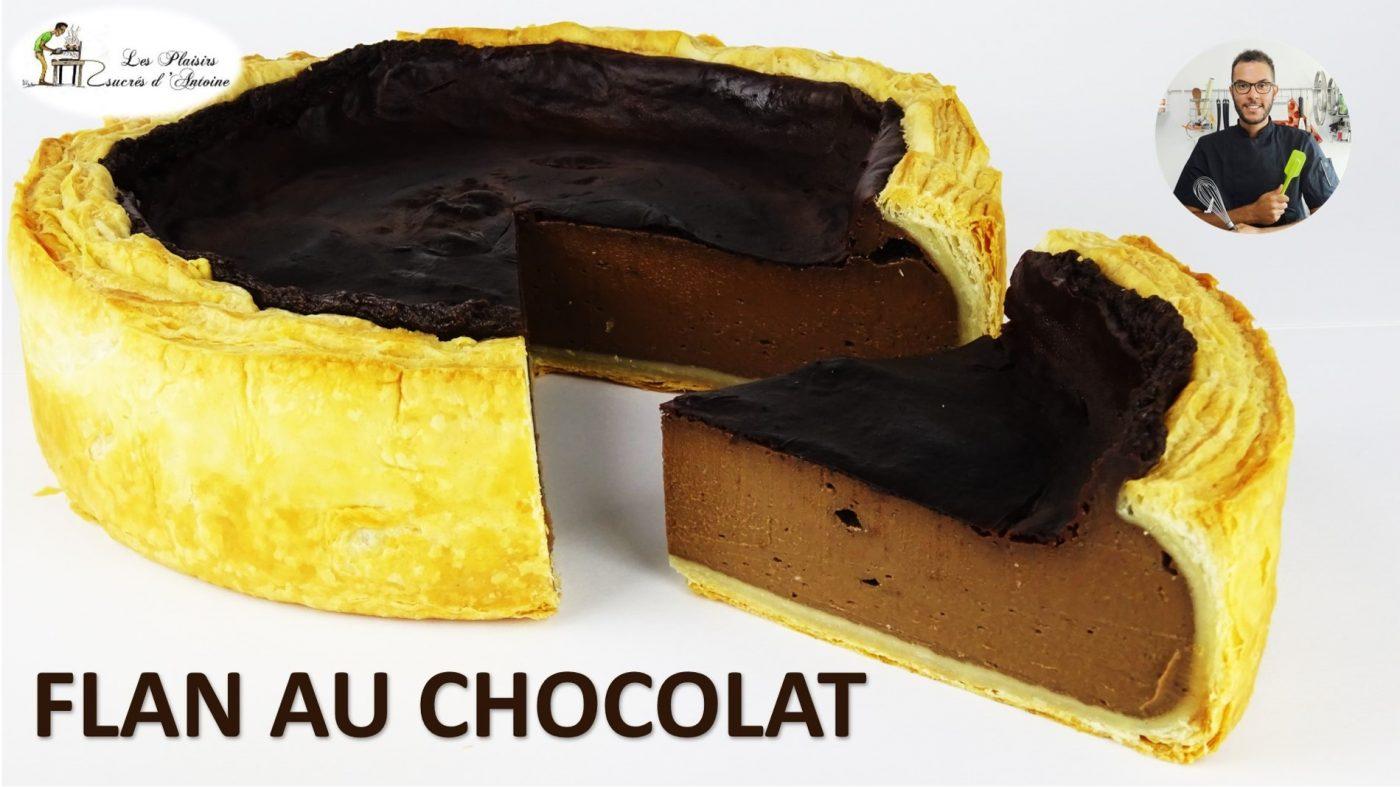 🍫 LE FLAN AU CHOCOLAT 🍫