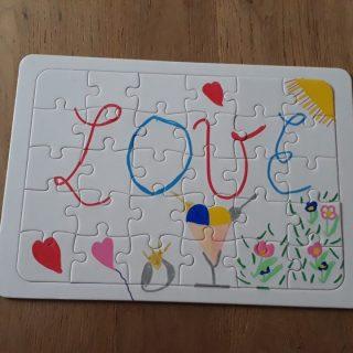 J'ai testé pour vous le Puzzle à décorer