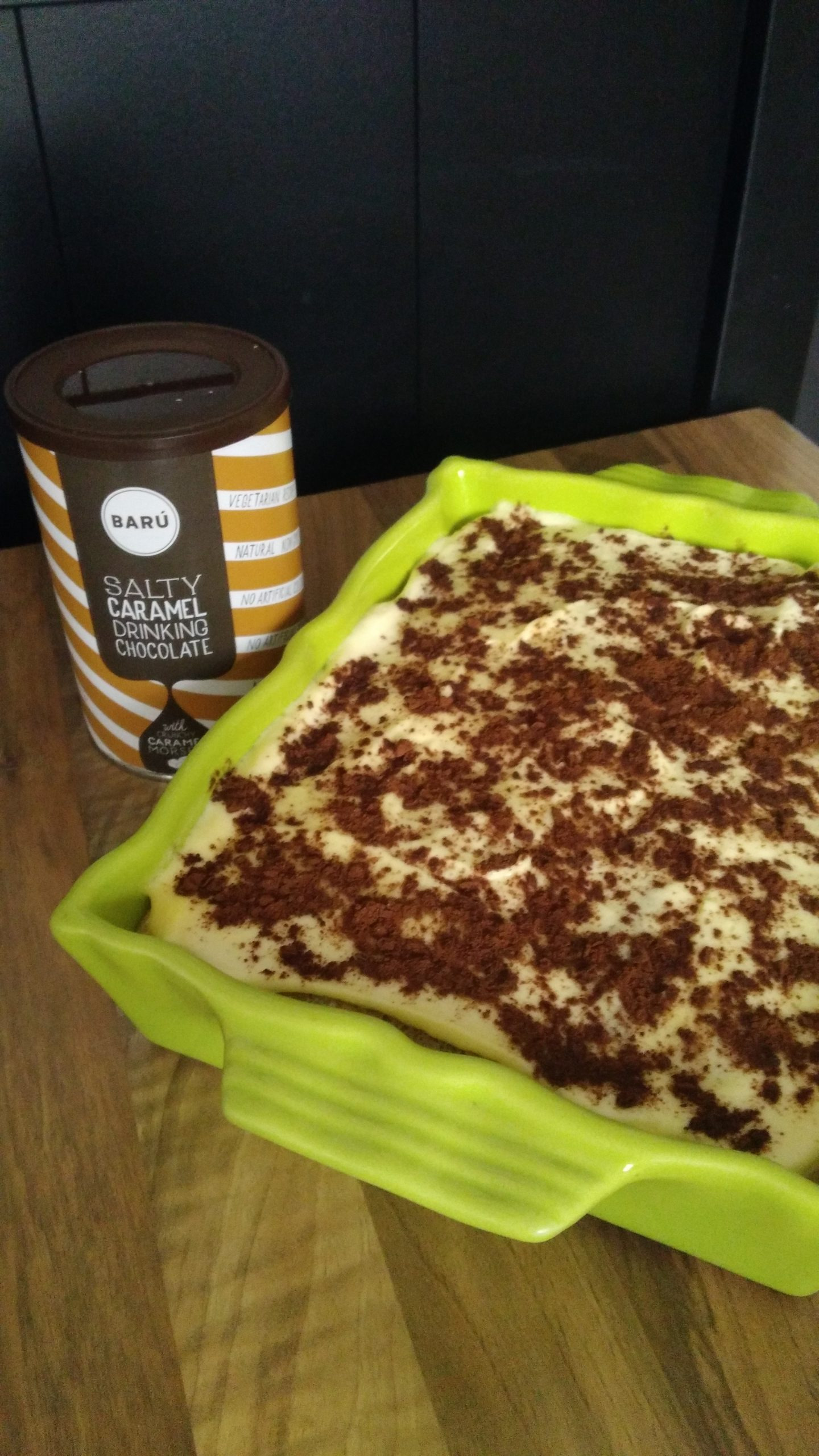 J'ai testé pour vous chocolat au caramel salé en poudre – Barù