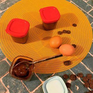 Crèmes dessert au chocolat force noire allégées à la multidelices