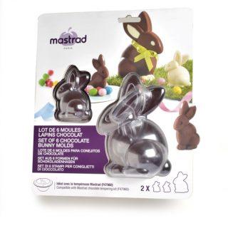 J'ai testé pour vous 6 Moules chocolat Pâques : les lapins Mastrad