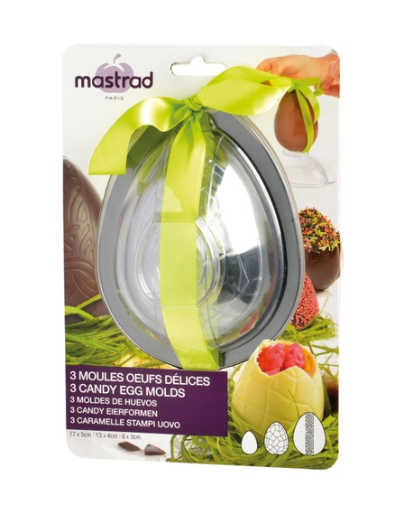 J'ai testé pour vous moules oeufs de Pâques 3 demis Mastrad