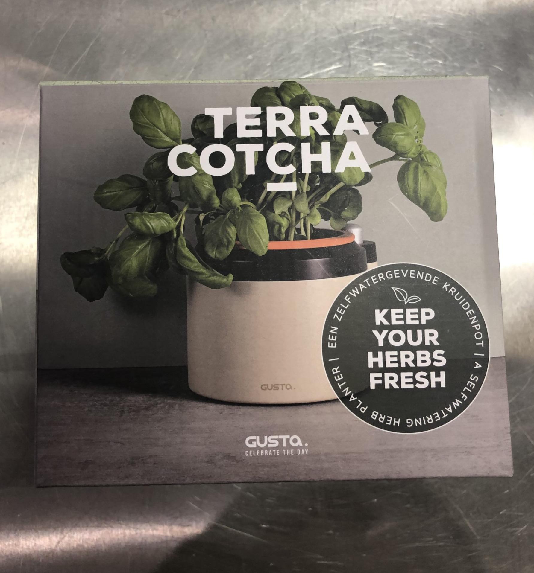 J'ai testé pour vous le pot a herbe aromatique de Gusta