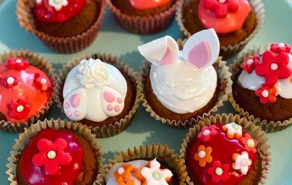Mes cupcakes et macarons maisons !