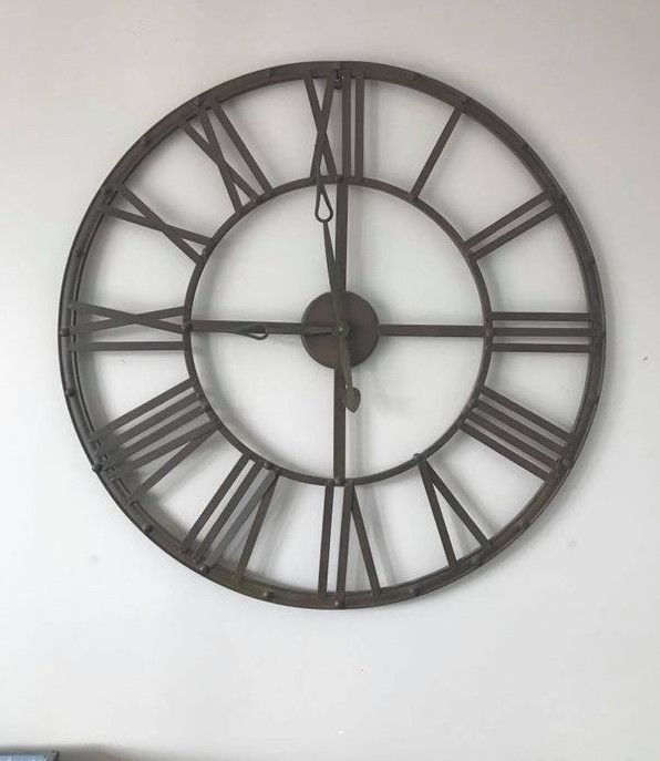 Horloge métal Atmosphéra