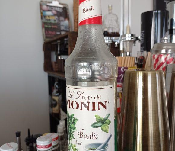 Sirop Monin Saveur Basilic