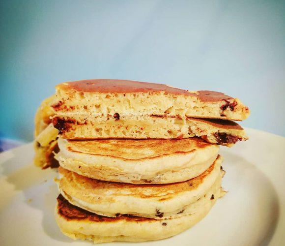 Pancake pépites de chocolat