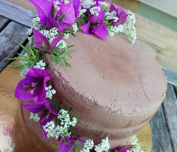 Le nude cake au chocolat praliné