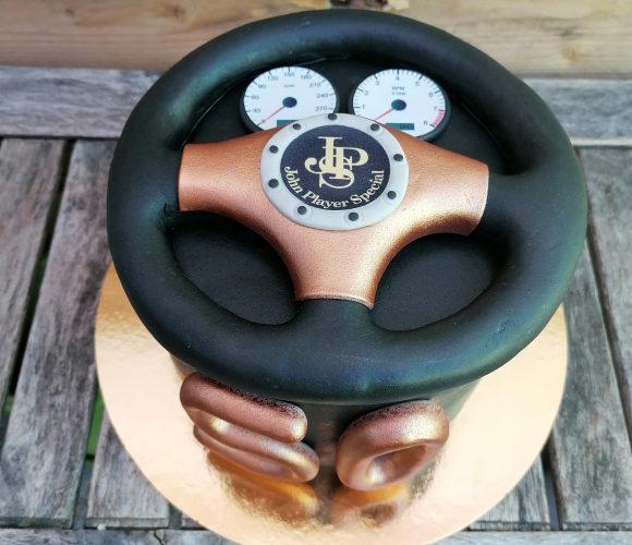 Cake design Lotus