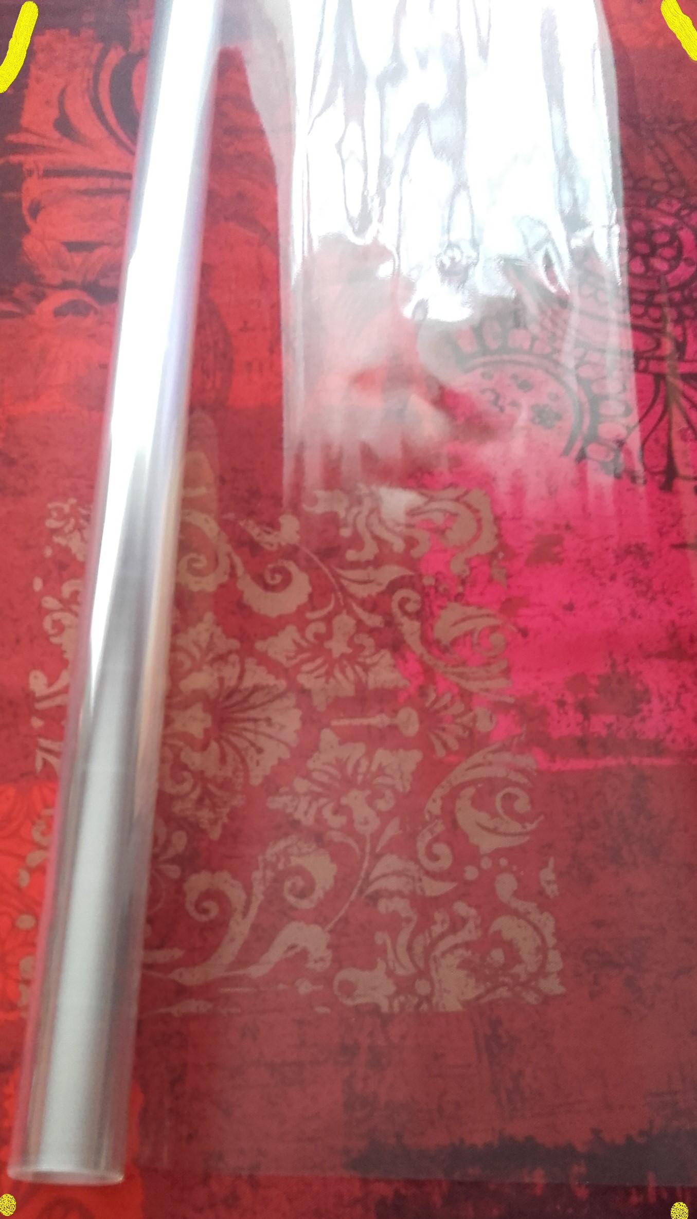 Rouleau papier cristal - Transparent