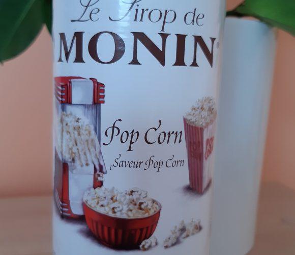 J'ai testé pour vous sirop Monin saveur Pop Corn