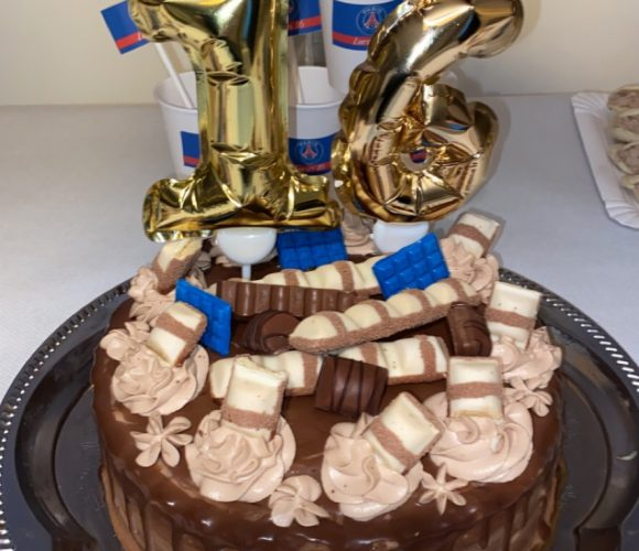 Topper gâteau