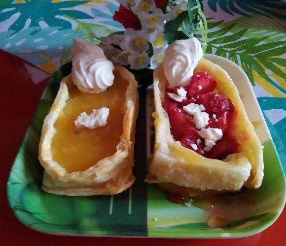 Tartelettes citron et citron 🍋 fraises 🍓