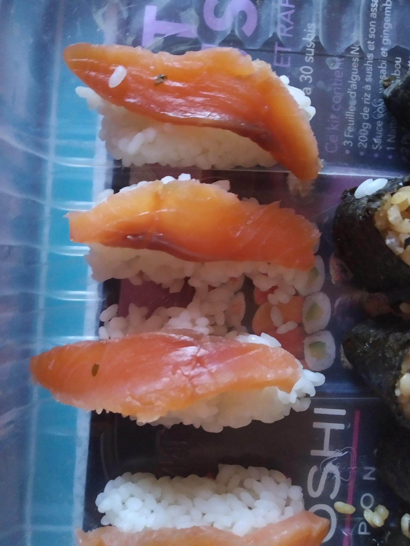 Sushi maison.