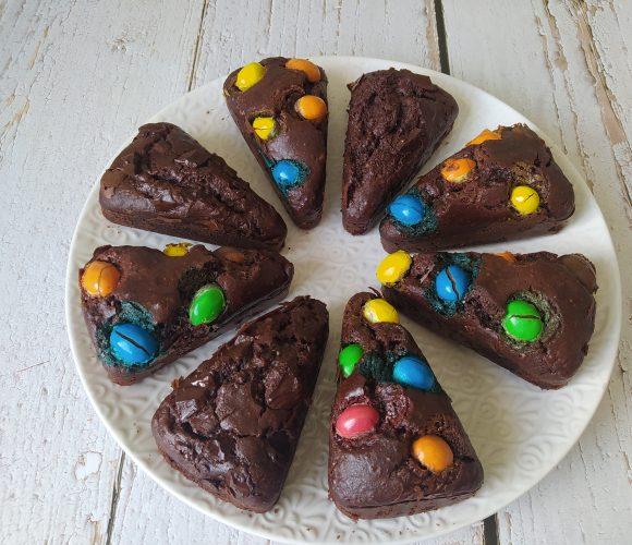 Gâteau chocolat portion