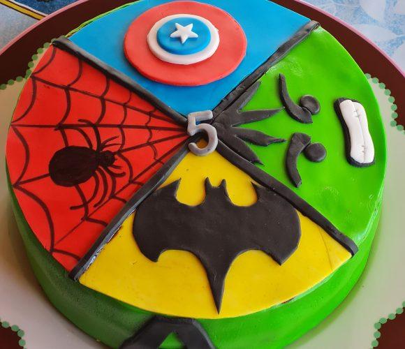 Gâteau Advenger