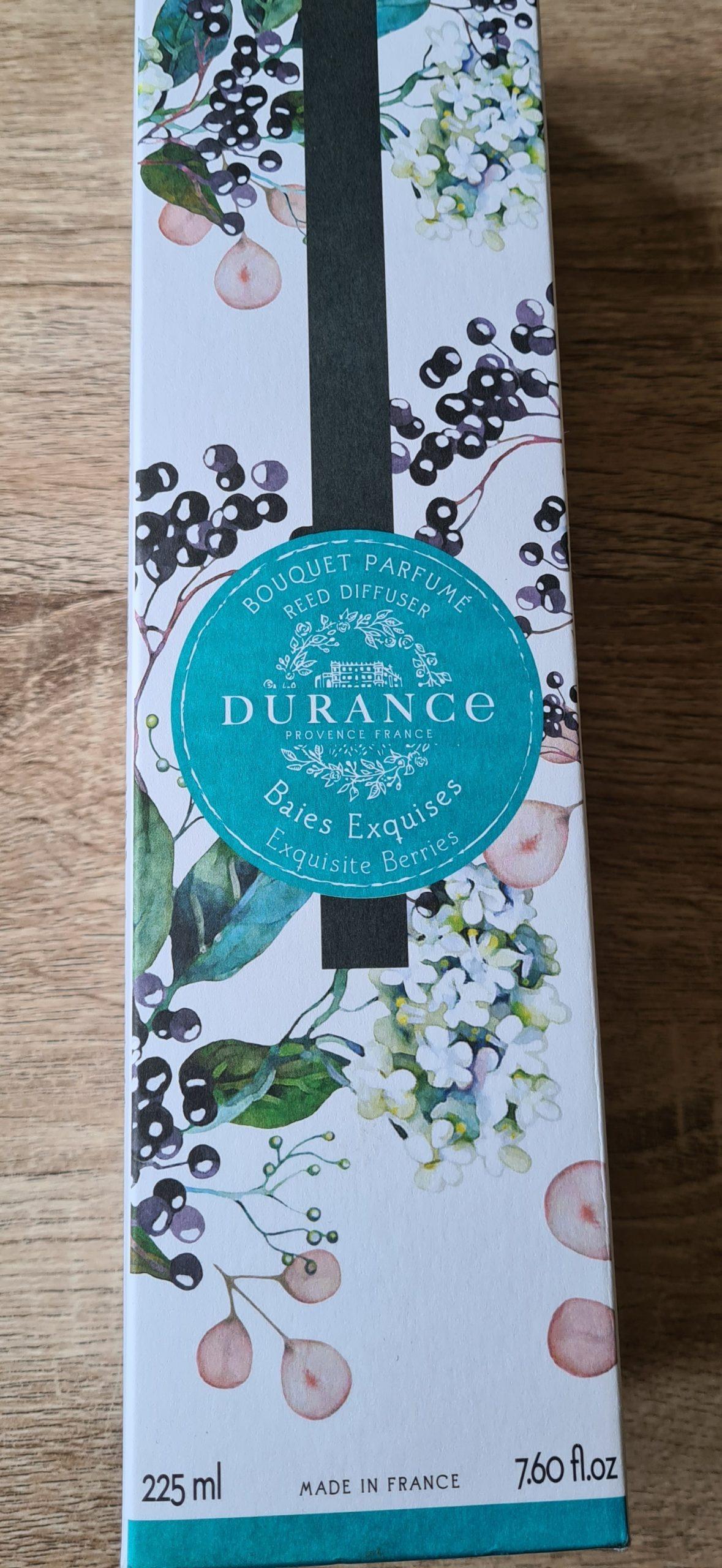 J'ai testé pour vous bouquet parfumé DURANCE