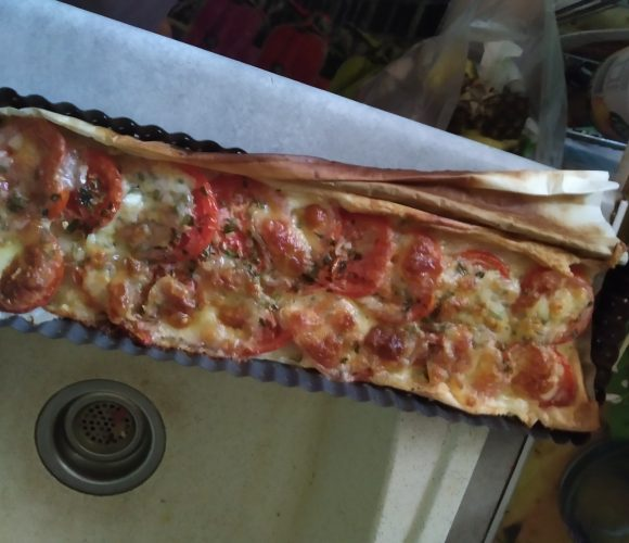 Bande tomates mozza