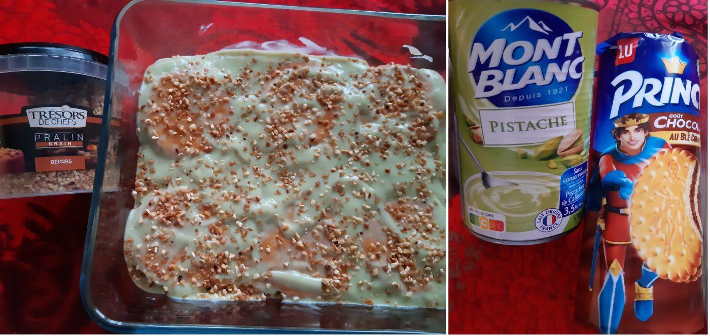 Gâteau aux Chocos BN et pralin