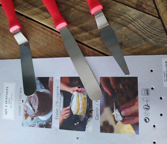 J'ai testé pour vous 3 spatules