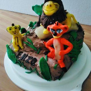 Gâteau Roi Lion