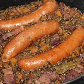 Lentilles saucisses
