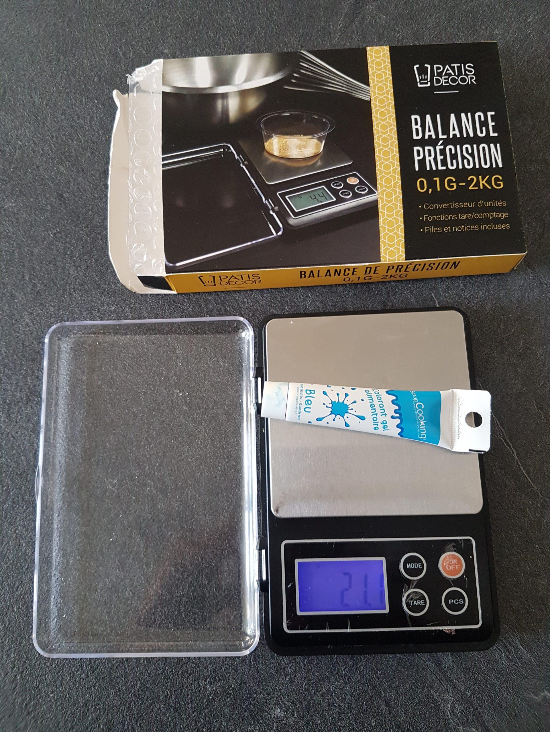 J'ai testé pour vous balance de cuisine électronique de précision en inox 2kg