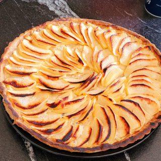Tartes aux pommes pâtissière