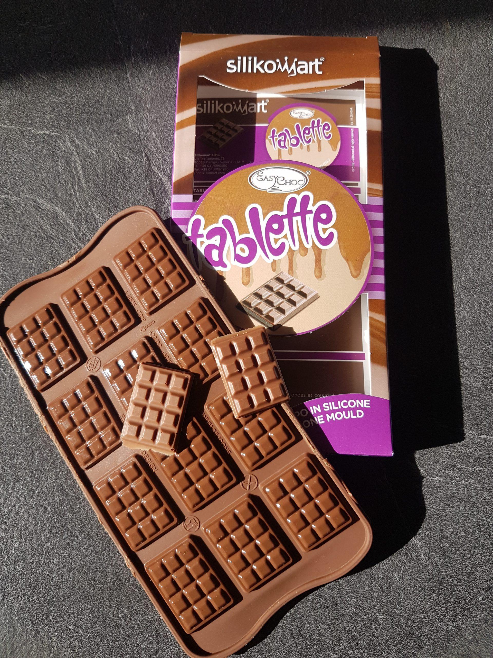 J'ai testé pour vous moule silicone chocolat Tablette