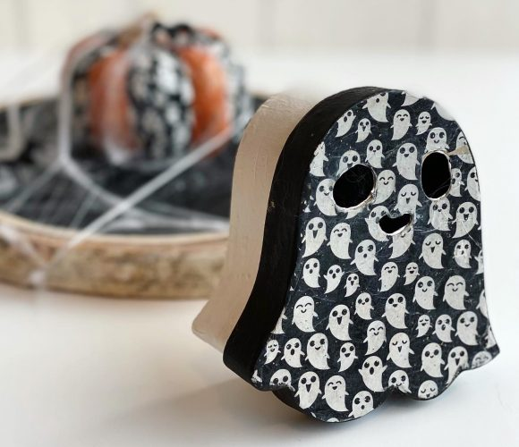 Ma jolie boîte fantôme DIY pour Halloween