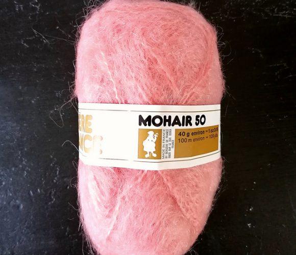 J'ai testé pour vous la laine Mohair 50 de Bergere de France