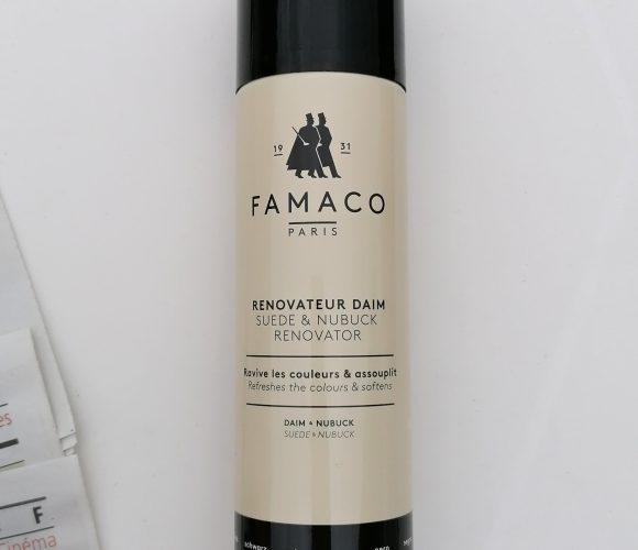 J'ai testé pour vous rénovateur Daim noir Famaco