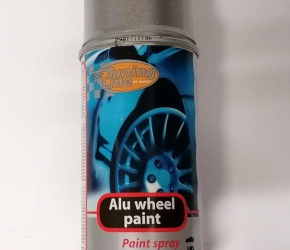 J'ai testé pour vous bombe peinture argentée Tuning Line – Alu Wheel Paint