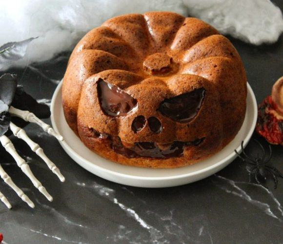 Gâteau halloween noisette