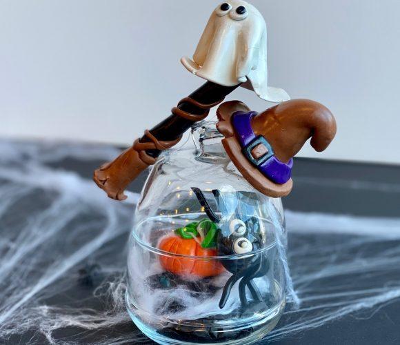 Mes sujets en pâte polymère pour Halloween !